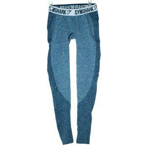 Gymshark Womens Flex Blue Leggings Size Small